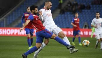 Der FC Basel gewann in dieser Saison beide Spiele gegen Sion. Auswärts mit 4:1 zum Saisonauftakt und 4:0 im Joggeli.