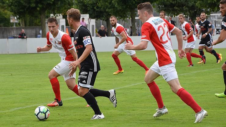 In der Vorrunde gewann Solothurn gegen Buochs daheim mit 3:1. Am Samstag kommts zum zweiten Duell.