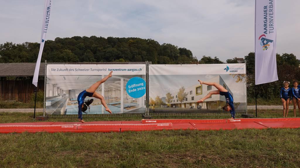 Das Turnzentrum Aargau nimmt Form an
