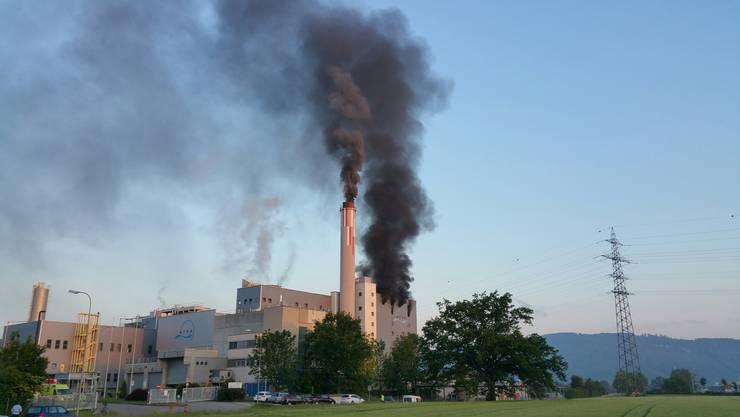 In der KVA Oftringen brach am Mittwoch vor 5.30 Uhr ein Brand aus.