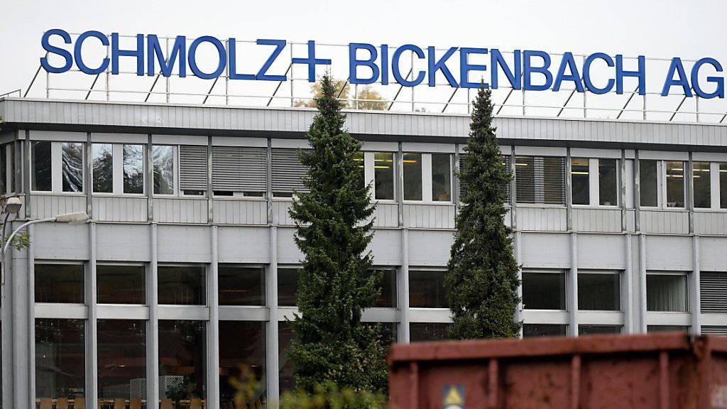 Der Stahlkonzern Schmolz + Bickenbach wurde in Deutschland von Kartellbehörden durchsucht (Archivbild).