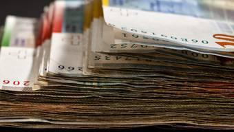 Der Kanton budgetiert ein Minus von 65 Mio. Franken. (Symbolbild)