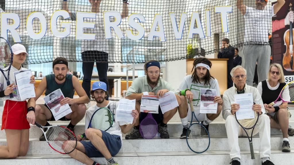 Umweltaktivisten ziehen wegen Strafen vor Gericht in Lausanne