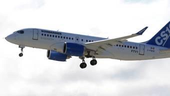 Nun haben die USA auch gegen Bombardiers CSeries-Flugzeuge Strafzölle verhängt. Hintergrund ist der Vorwurf ungerechter Subventionen für den kanadischen Flugzeugbauer. (Archiv)