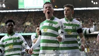 Celtic Glasgow sicherte sich zum 9. Mal in Serie den Meistertitel in Schottland