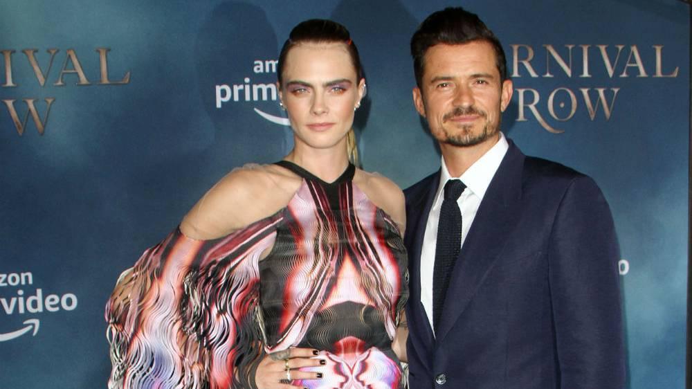 Cara Delevigne und Orlando Bloom