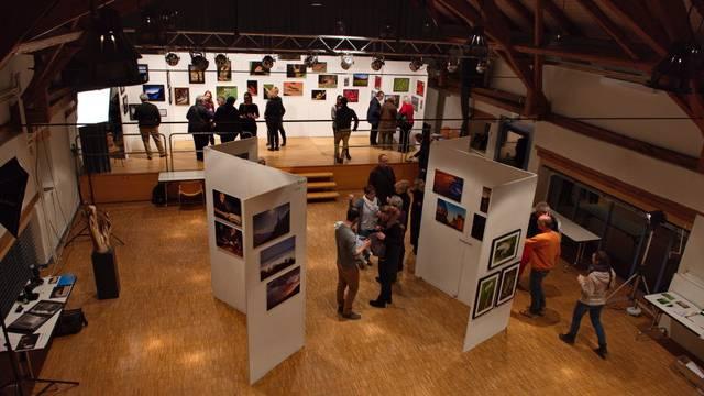 Teilansicht der Ausstellung in der Kächschür Oberdorf