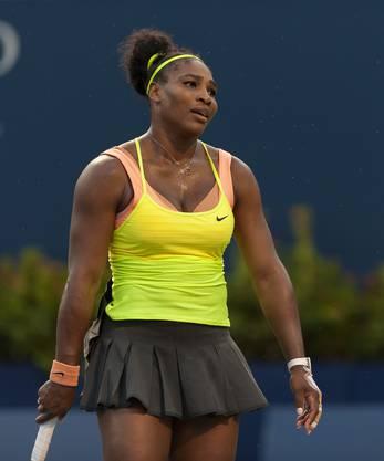 Serena Williams hadert mit sich selbst