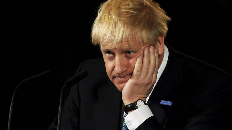 Der britische Premierminister Boris Johnson erntet in Wales Kritik. (Archivbild)