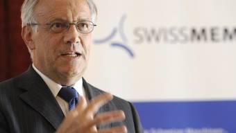 Johann Schneider-Ammann warnt vor Konsequenzen von schwachem Euro (Archiv)