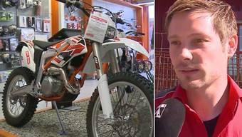 Am Wochenende wurden bei Moto Mader in Oberentfelden zehn neue Motorräder gestohlen. Für den Händler ist klar: Das waren Profis.