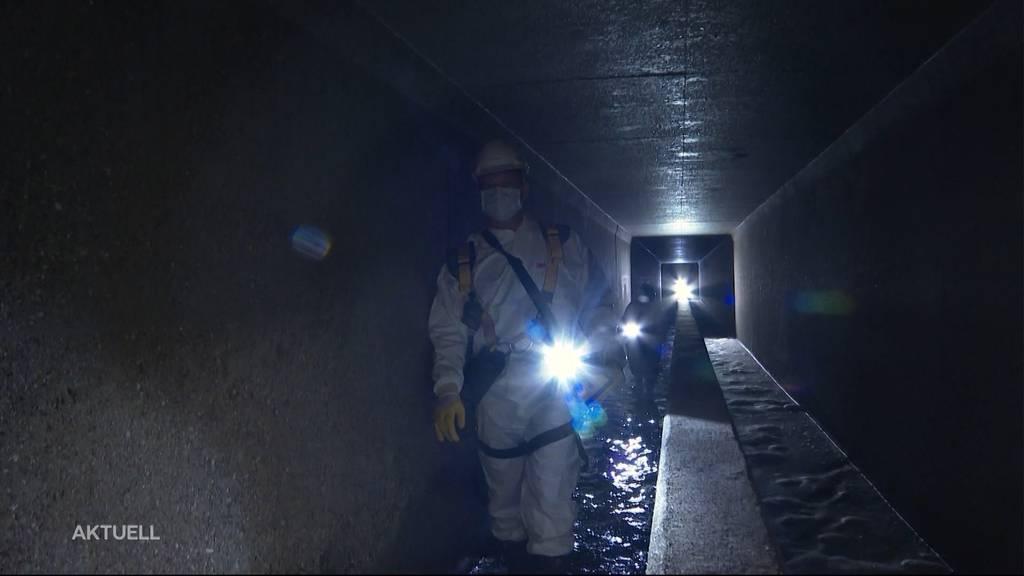 Unbeliebter Job: Kanalsanierung in Baden