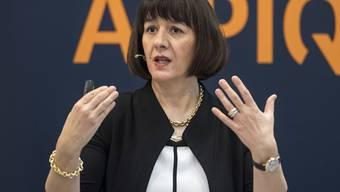 Alpiq-Chefin Jasmin Staiblin ist derzeit die einzige Frau unter den 39 bestbezahlten Schweizer CEOs. (Archiv)