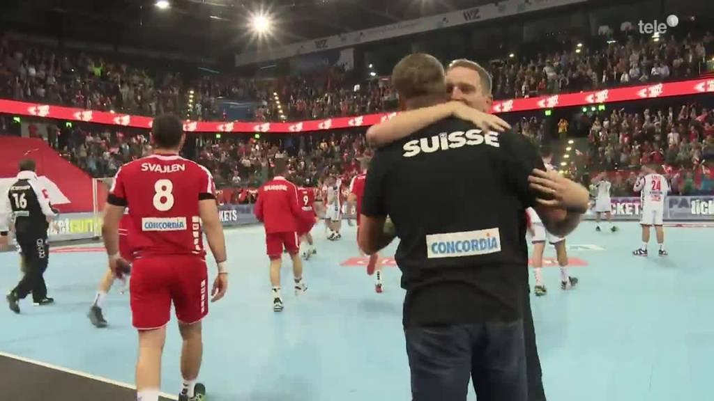 Schweiz - Serbien in Zug