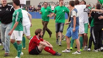 Beim Cupfinal jubelten die grünen Gontenschwiler, in der Meisterschaft waren es die roten Rothrister.
