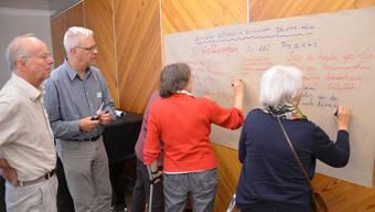 Die Schlieremer Bevölkerung erschien zahlreich zur Infoveranstaltung zum Projekt Stadtteilentwicklung Schlieren Südwest