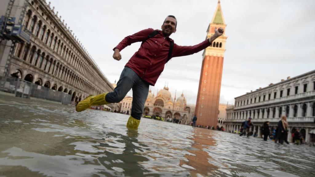 Entspannung in Venedig – Unwetter-Alarm in anderen Teilen Italiens