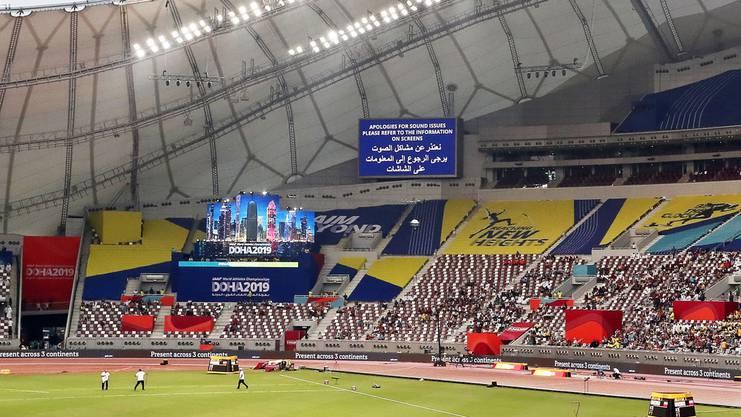 Das Khalifa Stadion in Doha begeistert mit seiner Architektur - doch zu welchem Preis und auf wessen Kosten wurde es erbaut?