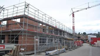 Die beiden Gebäude des VAOF in Laufenburg befinden sich im Rohbau.