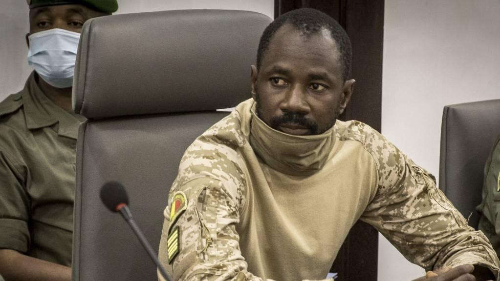 Das Verfassungsgericht hat in Mali Oberst Assimi Goita zum neuen interimistischen Staatschef ernannt. (Archivbild)