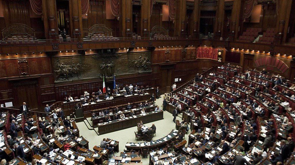 Die Abgeordneten Italiens stimmten für das Gesetz, das Holocaustleugner bestraft. (Archiv)