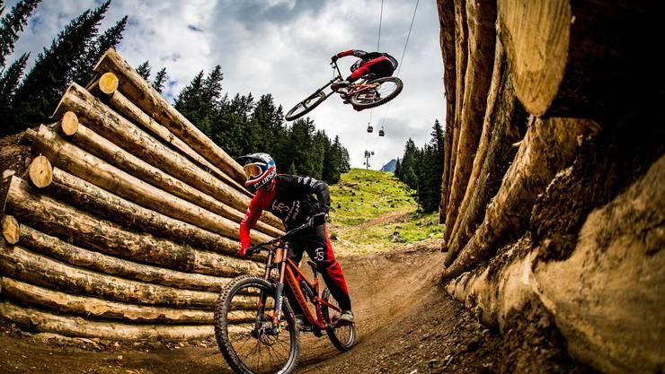 Alles für die Biker: In der Lenzerheide warten zahlreiche Trails, das Gebiet hat in den letzten Jahren seine Bike-Infrastruktur aufgerüstet.