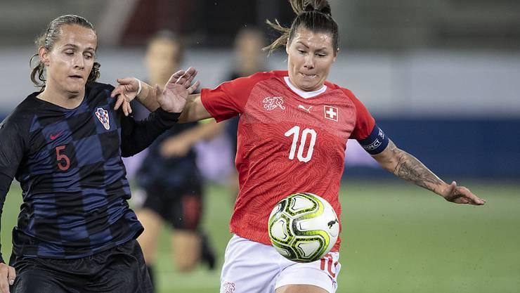 Ramona Bachmann rettete der Schweiz in Kroatien mit dem Ausgleich eine Viertelstunde vor Schluss einen Punkt