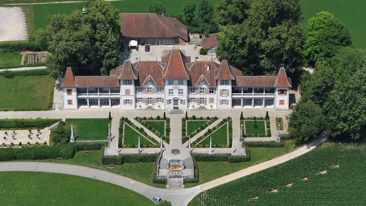 Das Schloss Waldegg in Feldbrunnen-St.Niklaus.