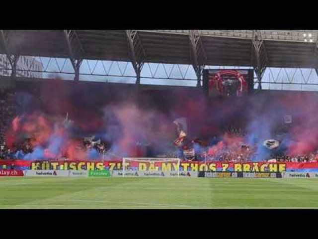 FC Basel - FC Sion 3:0 | Cupfinal Choreo