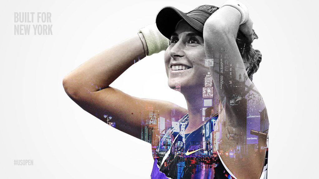 Belinda Bencic an den US-Open im Halbfinal