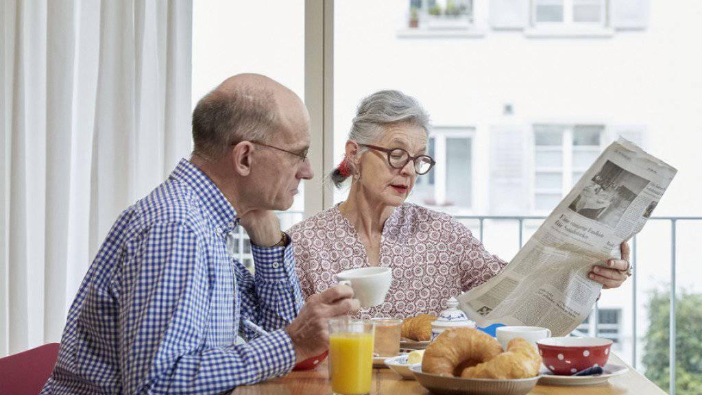 Die fortschreitende Alterung der Gesellschaft ist die grösste Herausforderung für das Schweizer Vorsorgesystem. (Symbolbild)