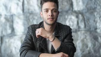 Das ESC-Abenteuer geht los: Der Schweizer Sänger und Songschreiber Luca Hänni macht sich auf den Weg nach Tel Aviv.
