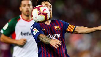 Lionel Messi bot beim Meisterschaftsauftakt des FC Barcelona gegen Alaves eine überragende Leistung