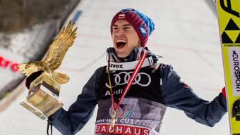 Im letzten Jahr an der Vierschanzentournee nicht zu stoppen: Kamil Stoch