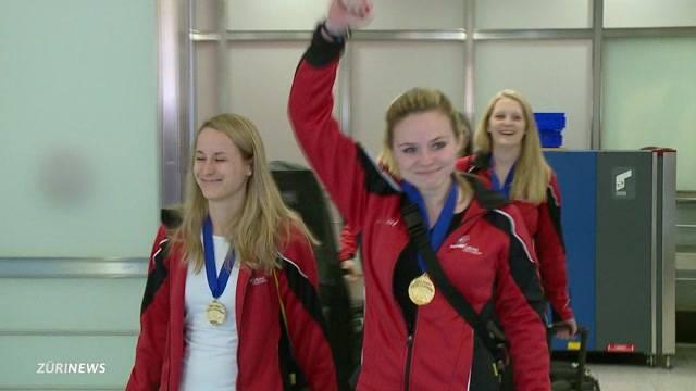 Schweizer Curlerinnen holen Weltmeisterschafts-Titel