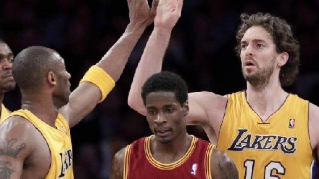 Lakers für Cleveland eine Nummer zu gross