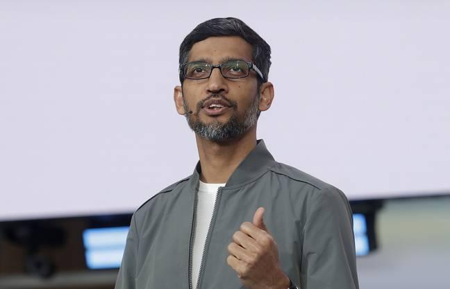 Google-Chef Sundar Pichai soll von Schiksalen von Familien bewegt worden sein.