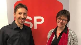 Simon Bürki-Kopp und Franziska Rohner.