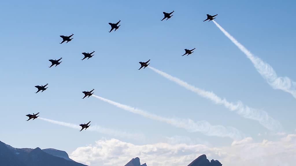 Luftpolizei: So fängt die Luftwaffe ein Flugzeug ab