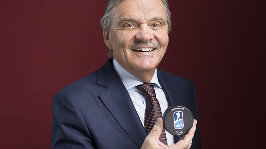 27 Jahre lang führte der studierte Zahnarzt den Eishockey-Weltverband von Zürich aus