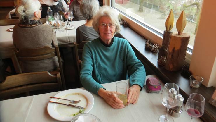 Geburtstag am 3.1.2020 von der Frau im Restaurant Bienenberg