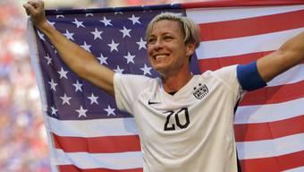Tritt nach 184 Toren in 252 Länderspielen ab: Abby Wambach