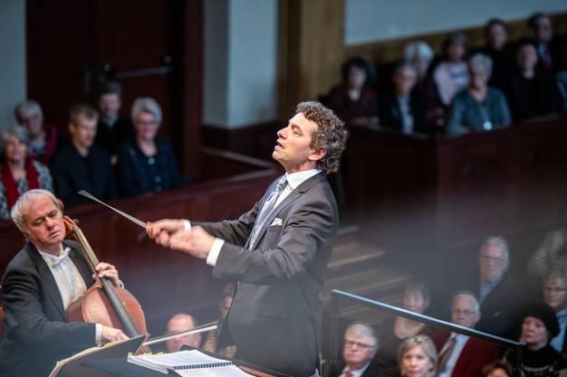 Dirigent Kaspar Zehnder