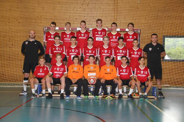 U15-Elite des HSC Suhr Aarau