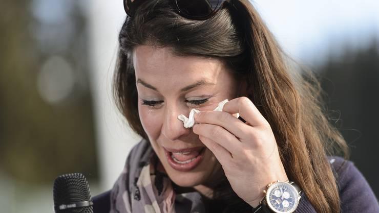 Dominique Gisin kämpft mit den Tränen: «Es war eine wundervolle Reise»