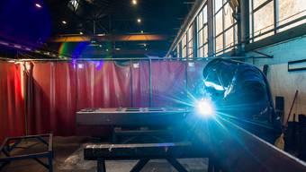 Die Aussichten für die Metallindustrie erhellen sich erstmals seit drei Monaten. (Symbolbild)