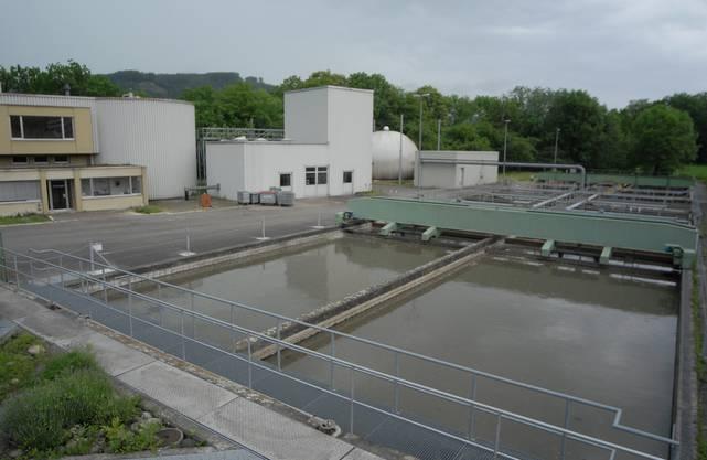 Die ARA Unterau (im Bild) wird an die ARA Windisch angeschlossen