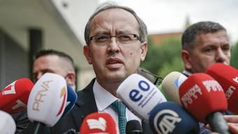 Der neue Präsident des Kosovo: Avdullah Hoti.