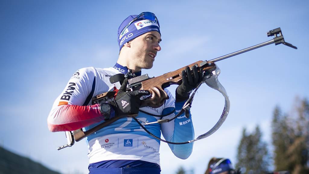 Martin Jäger wird Biathlon-Europameister