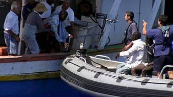 Rettung durch Maltas Marine (Archivbild)